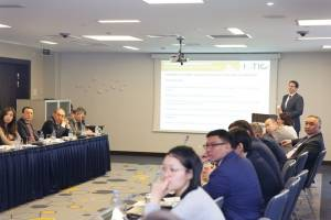 "Round table discussion was held on the topic: ""Sustainable urban infrastructure in Kazakhstan: indicators of green construction"""